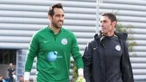 web Claudio Bravo walks out to training A19U2659
