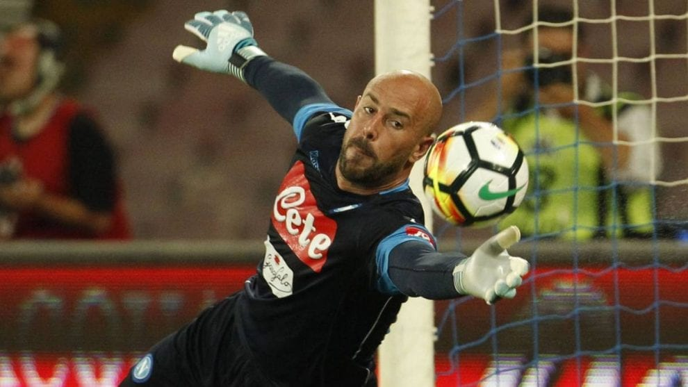 Pepe Reina, tactical excellence