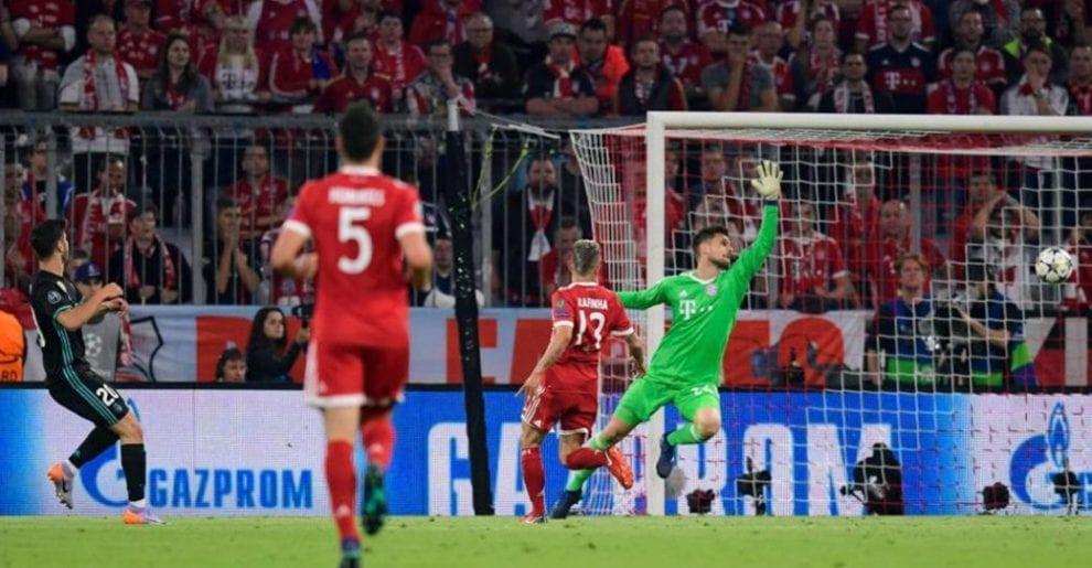 Analysis of Madrid's goals against Bayern Munich