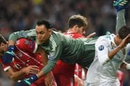 Compete as you train. By Keylor Navas