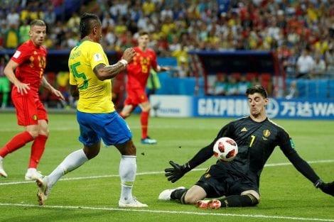 Brasil vs Belgica - Mundial Rusia 2018