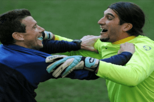 The importance of creating an atmosphere during the goalkeeper training