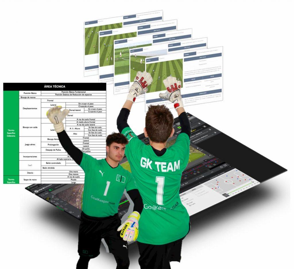 Curso online para entrenadores de porteros