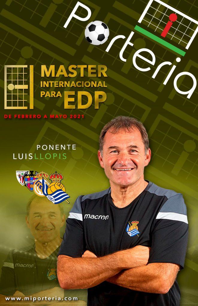 Luis llopis entrenador de porteros entrenamiento formación