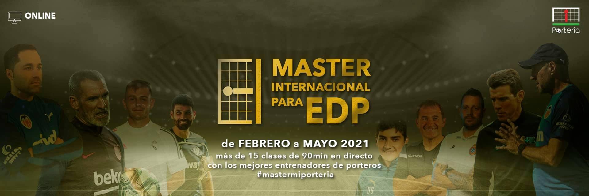 master internacional para EDP